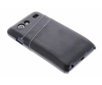 Zwart hardcase met vakjes Samsung Galaxy S Advance