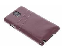 Bruin hardcase met vakjes Samsung Galaxy Note 3