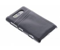 Zwart hardcase hoesje met vakjes Nokia Lumia 820