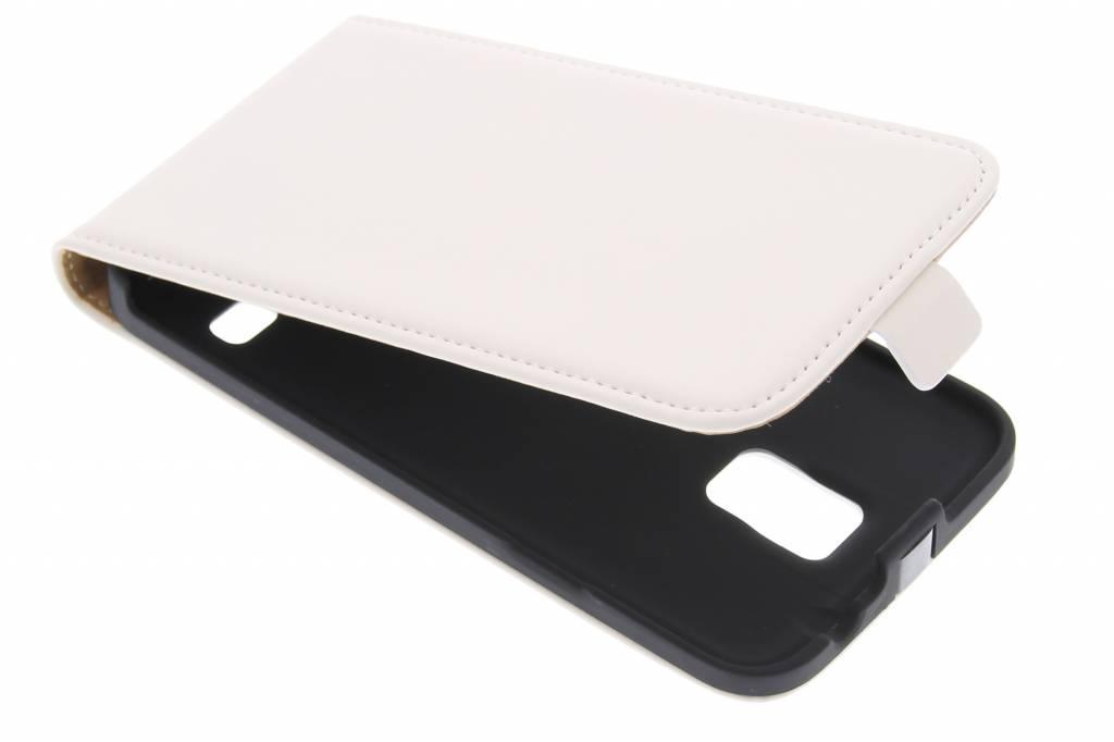 Mobiparts Premium flipcase voor de Samsung Galaxy S5 (Plus) / Neo - White
