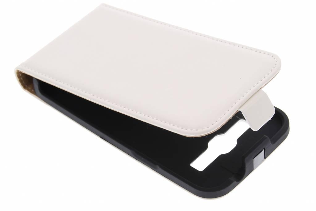 Mobiparts Premium flipcase voor de Samsung Galaxy Core Plus - White