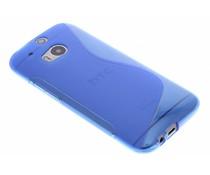 Blauw S-line TPU hoesje HTC One M8 / M8s