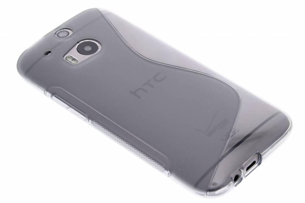 Grijs S-line TPU hoesje voor de HTC One M8 / M8s