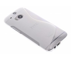 Transparant S-line TPU hoesje HTC One M8 / M8s