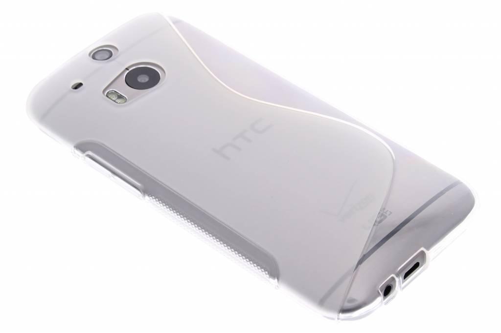 Transparant S-line TPU hoesje voor de HTC One M8 / M8s