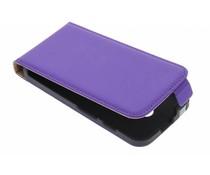 Mobiparts Premium flipcase Motorola Moto X - Purple