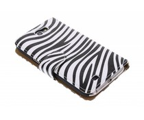 Zebra booktype hoes Samsung Galaxy Note 2