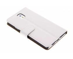 Wit effen booktype Samsung Galaxy Note 3