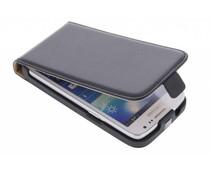 Zwart luxe flipcase Samsung Galaxy Core LTE / Express 2