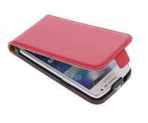 Rood luxe flipcase Samsung Galaxy Core LTE / Express 2