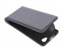 Zwart luxe flipcase Sony Xperia Z1 Compact