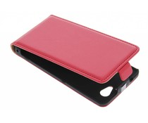 Rood luxe flipcase Sony Xperia Z1 Compact