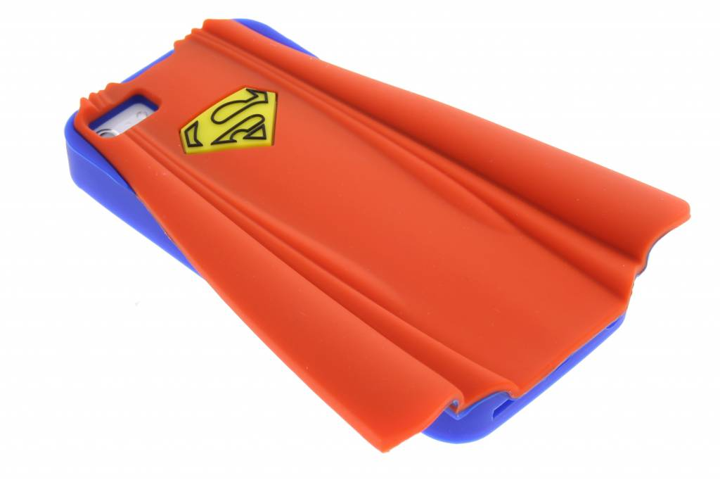 Image of Superman cape TPU siliconen hoesje voor de iPhone 5 / 5s / SE