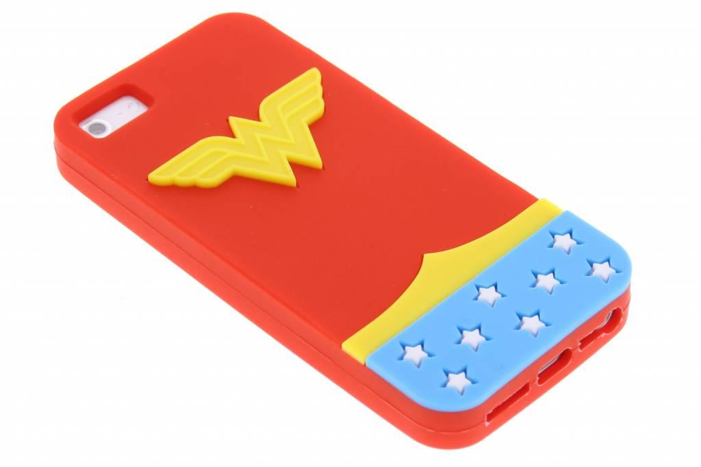 Image of Wonder Woman TPU siliconen hoesje voor de iPhone 5 / 5s / SE