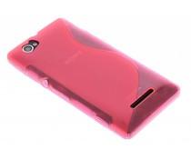 Rosé S-line TPU hoesje Sony Xperia M