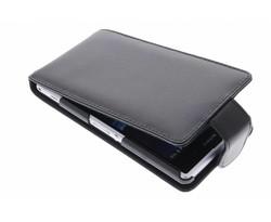 Zwart stijlvolle flipcase Sony Xperia Z1