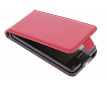 Rood luxe flipcase Huawei Ascend G525