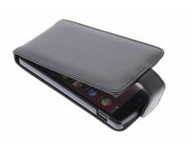 Zwart stijlvolle flipcase LG Nexus 5