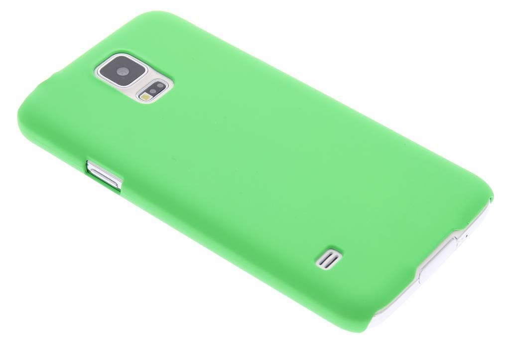 Groen effen hardcase hoesje voor de Samsung Galaxy S5 (Plus) / Neo