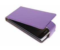 Paars classic flipcase Huawei Ascend Y530
