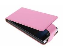 Roze classic flipcase Huawei Ascend Y530