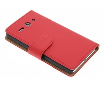 Rood effen booktype Huawei Ascend Y530