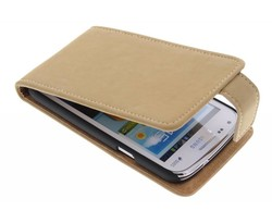 Premium suède flipcase Samsung Galaxy Core