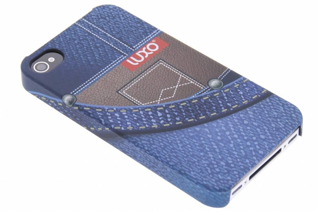 Jeans hardcase hoesje voor de iPhone 4 / 4s