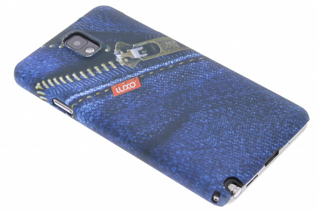 Jeans hardcase hoesje voor de Samsung Galaxy Note 3
