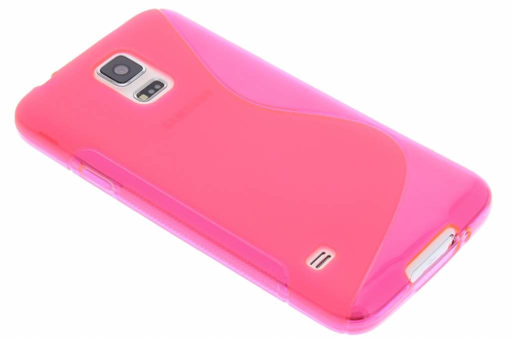 Rosé S-line TPU hoesje voor de Samsung Galaxy S5 (Plus) / Neo