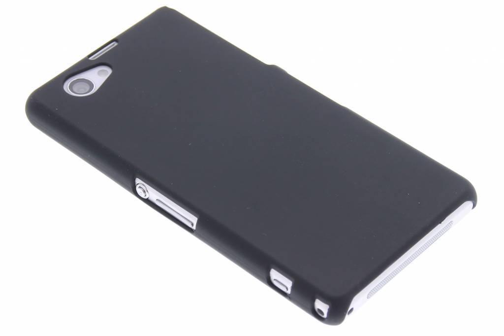 Zwart effen hardcase hoesje voor de Sony Xperia Z1 Compact