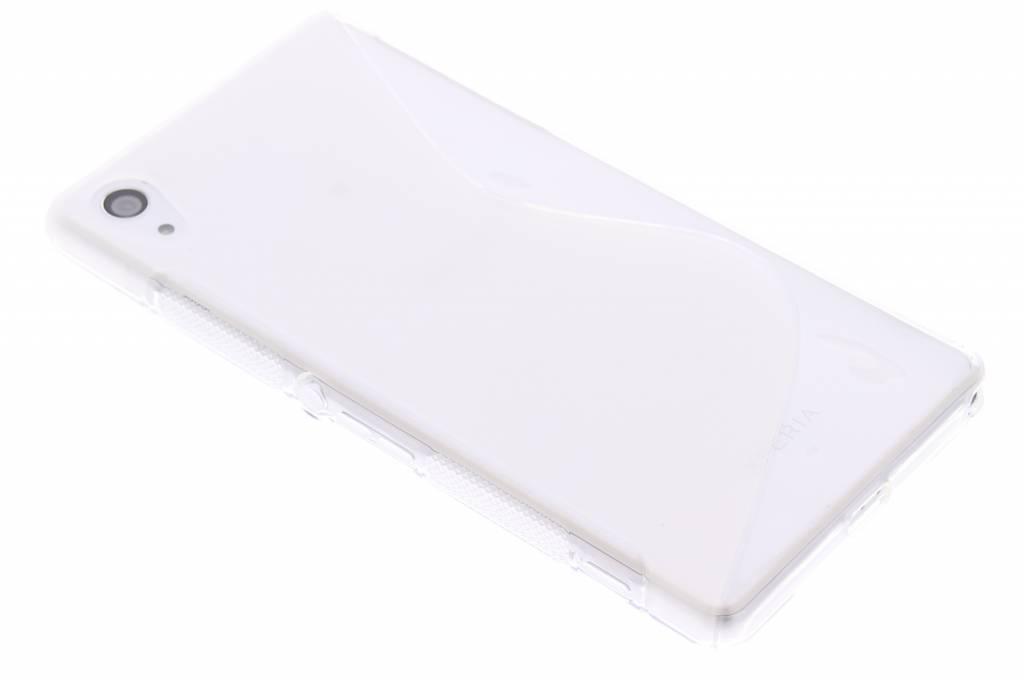 Transparant S-line TPU hoesje voor de Sony Xperia Z2