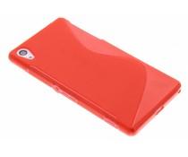 Rood S-line TPU hoesje Sony Xperia Z2