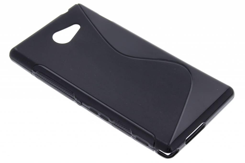 Ligne Tpu Cas De Noir Pour Sony Xperia M4 Aqua 3MkeE7w
