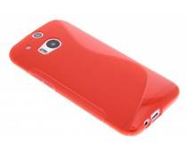 Rood S-line TPU hoesje HTC One M8 / M8s
