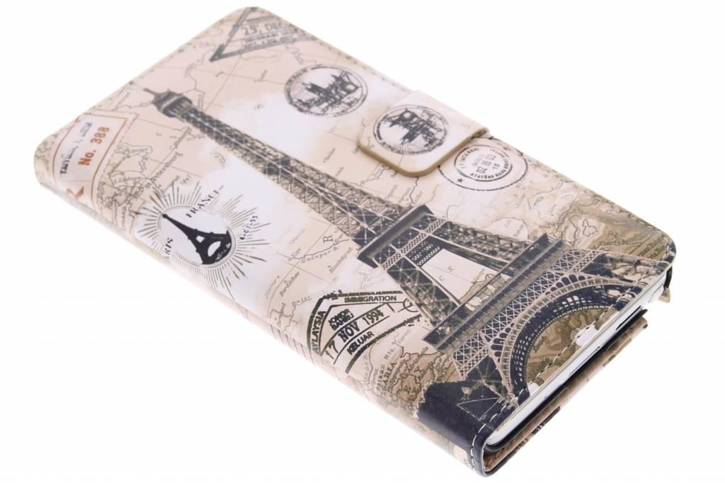 Parijs design booktype hoes voor de Samsung Galaxy Note 3