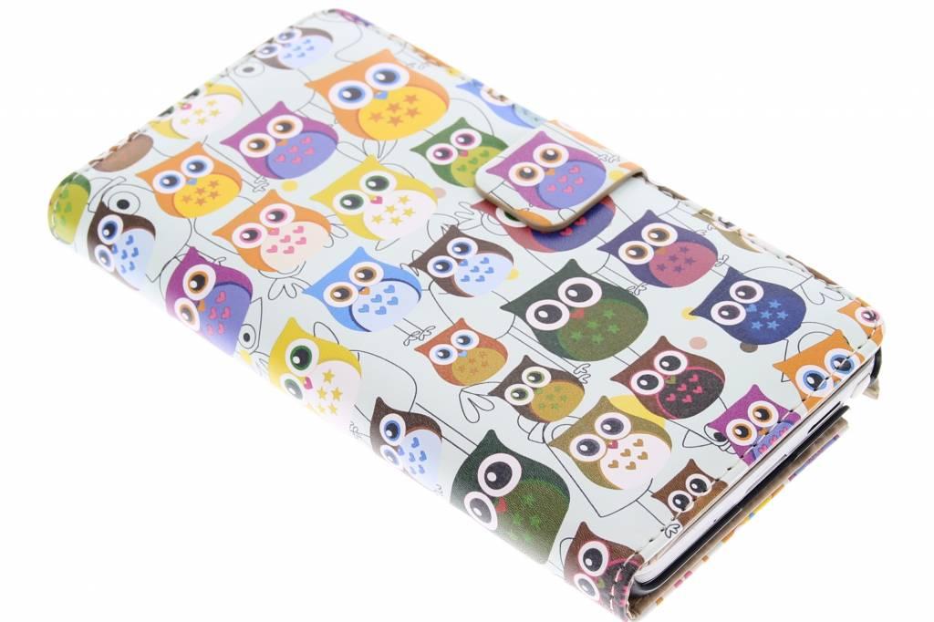 Uiltjes design booktype hoes voor de Samsung Galaxy Note 3