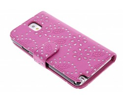 Bloemblad design booktype Samsung Galaxy Note 3