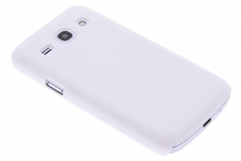 Wit effen hardcase hoesje voor de Samsung Galaxy Core Plus
