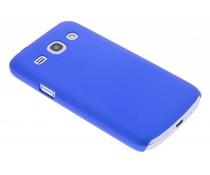 Blauw effen hardcase Samsung Galaxy Core Plus