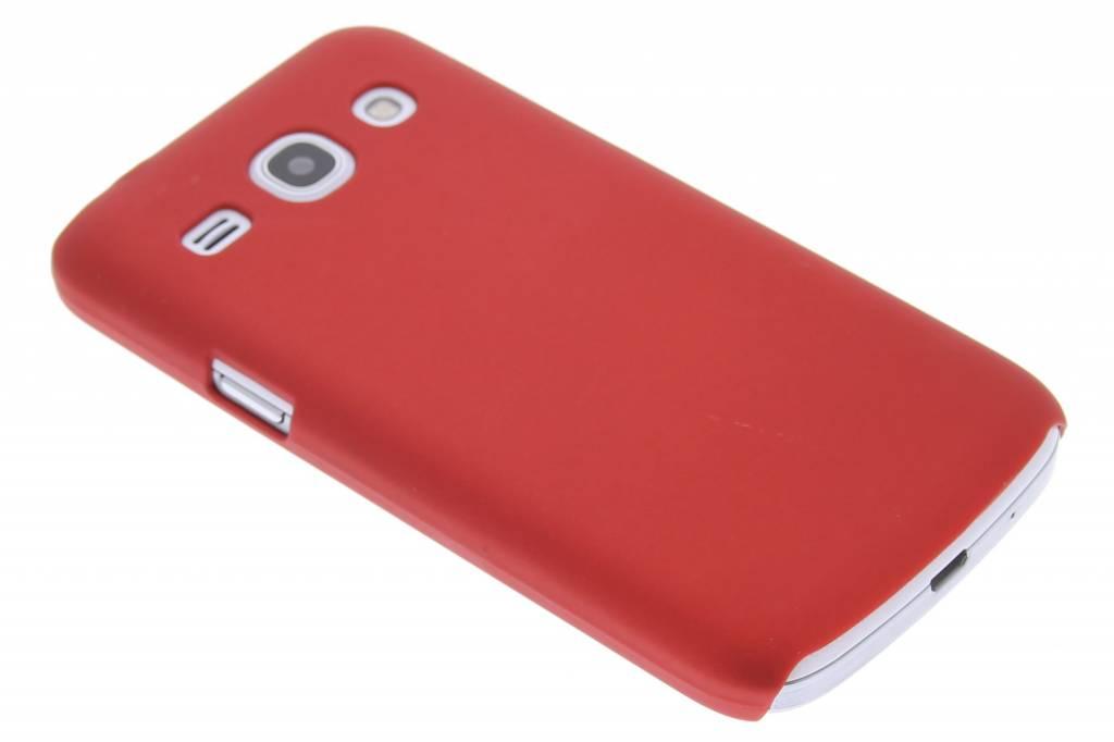 Rood effen hardcase hoesje voor de Samsung Galaxy Core Plus