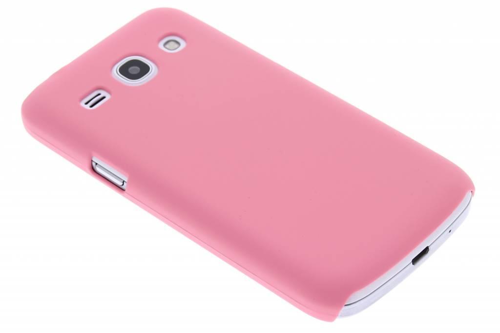 Roze effen hardcase hoesje voor de Samsung Galaxy Core Plus