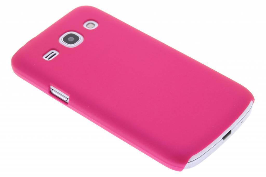 Fuchsia effen hardcase hoesje voor de Samsung Galaxy Core Plus
