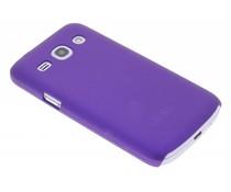 Paars effen hardcase Samsung Galaxy Core Plus