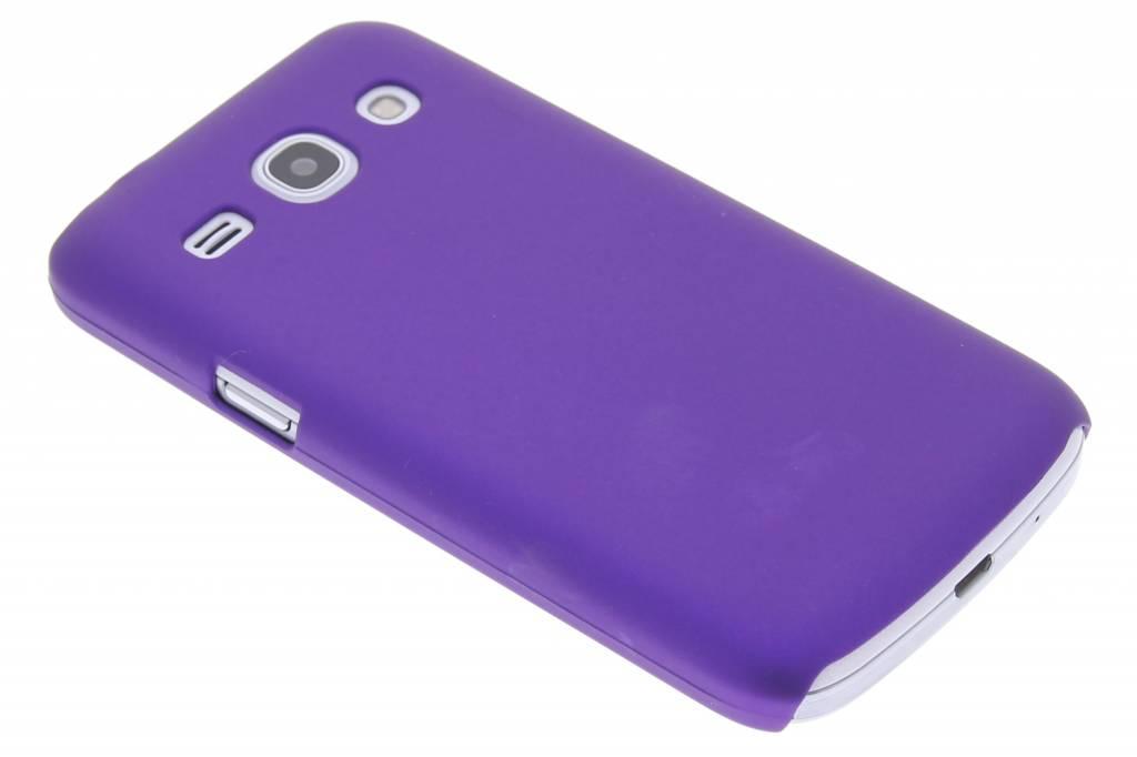 Paars effen hardcase hoesje voor de Samsung Galaxy Core Plus
