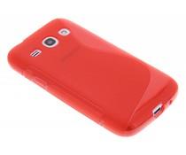 Rood S-line TPU hoesje Samsung Galaxy Core Plus