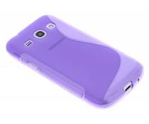 Paars S-line TPU hoesje Samsung Galaxy Core Plus