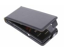 Zwart luxe flipcase Sony Xperia M