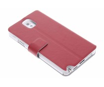 Rood stijlvolle booktype hoes Samsung Galaxy Note 3