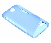 Blauw S-line TPU hoesje HTC Desire 310